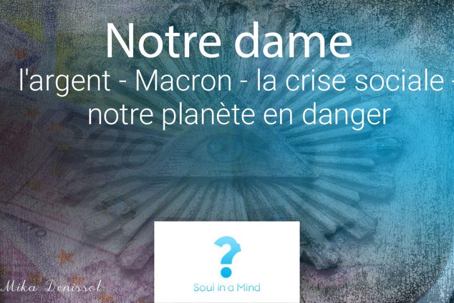 Notre-Dame de Paris : de l'argent pour consoler «l'émotion nationale» au détriment de la crise sociale