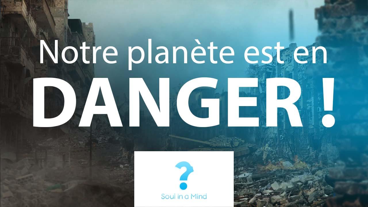 Effondrement : notre planète est en danger !